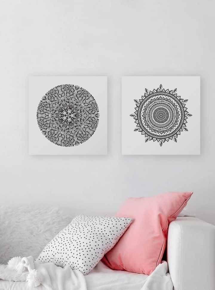 quadros para quarto com imagem inspiradora