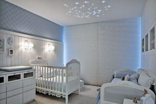 feng shui quarto do bebe tons de azul claro e branco