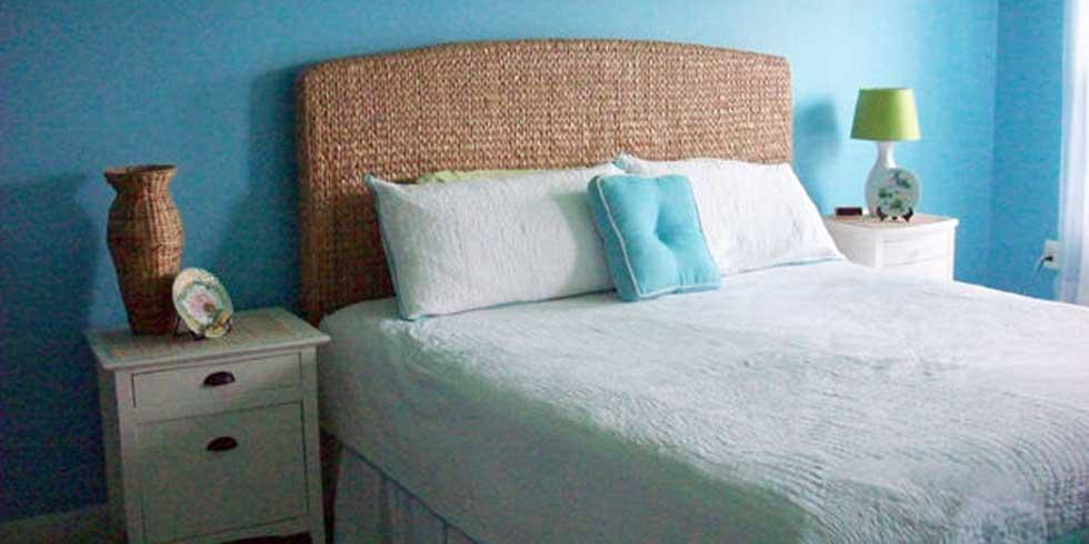 feng shui quarto de casal parede azul clara