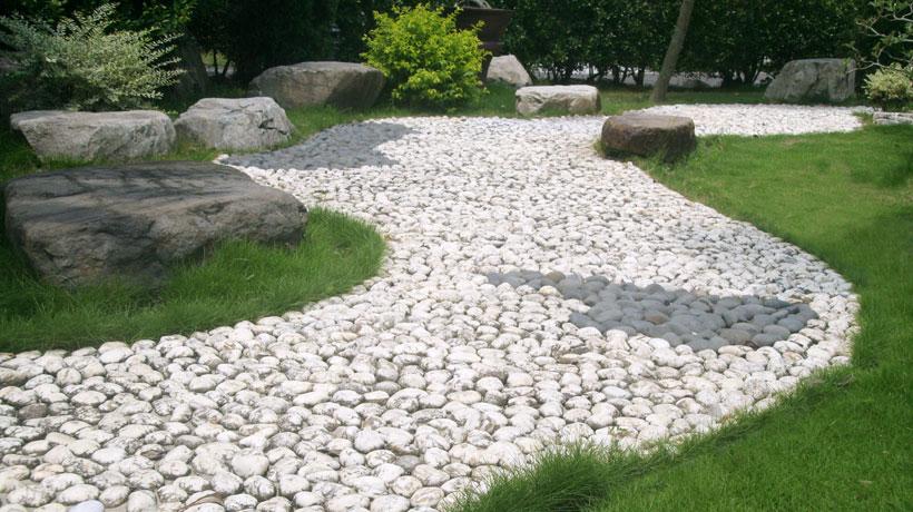pedra para caminhos