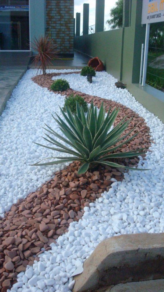 pedras para jardim decorativa