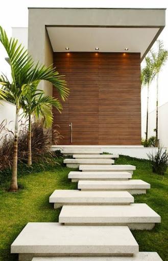 escadas de entrada com marmore ou granito como pedras para jardim