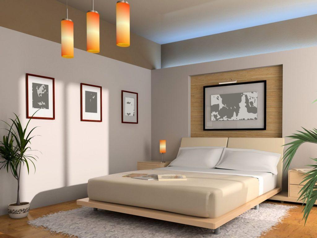 quarto feng shui minimalista tons neutros