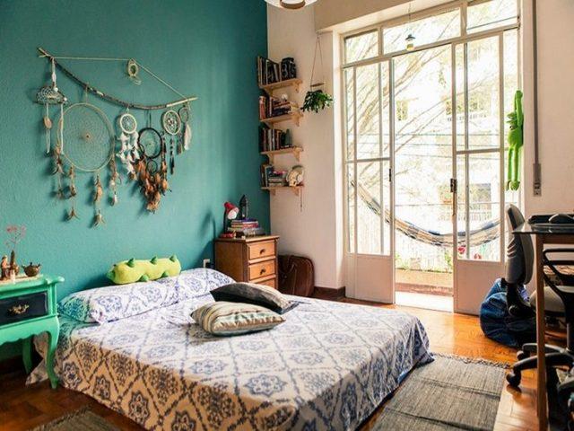 quarto feng shui estilo hippie