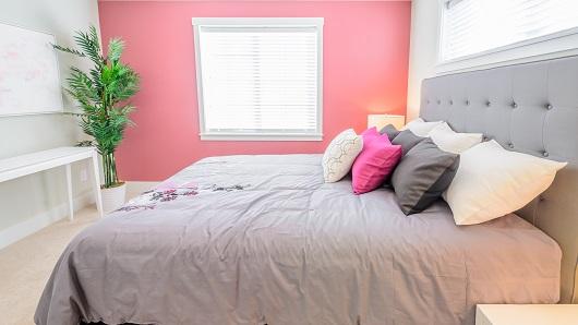 feng shui quarto de casal em tons de rosa romance