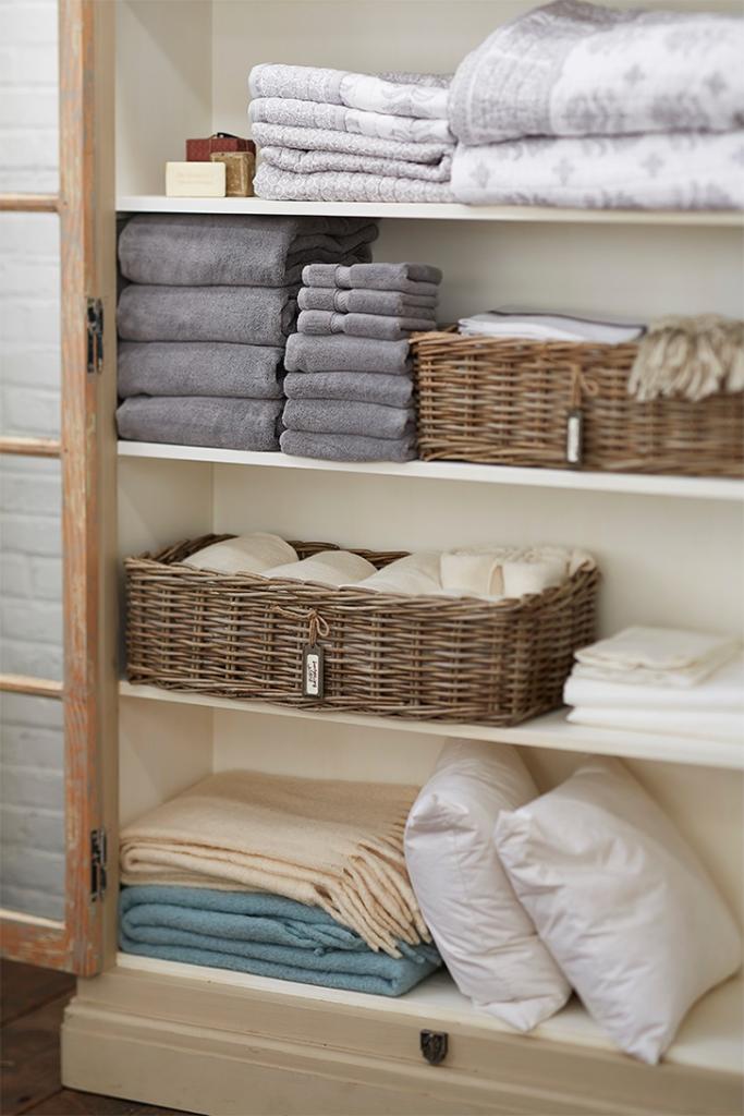 roupas de cama e banho
