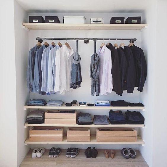 guarda roupa artesanal