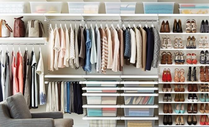 Como organizar guarda roupa feminino