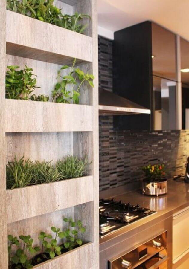 horta vertical cozinha