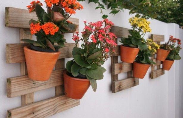 horta vertical vaso ceramica