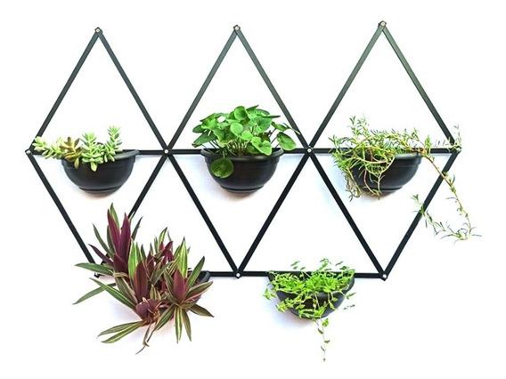 horta vertical geométrico