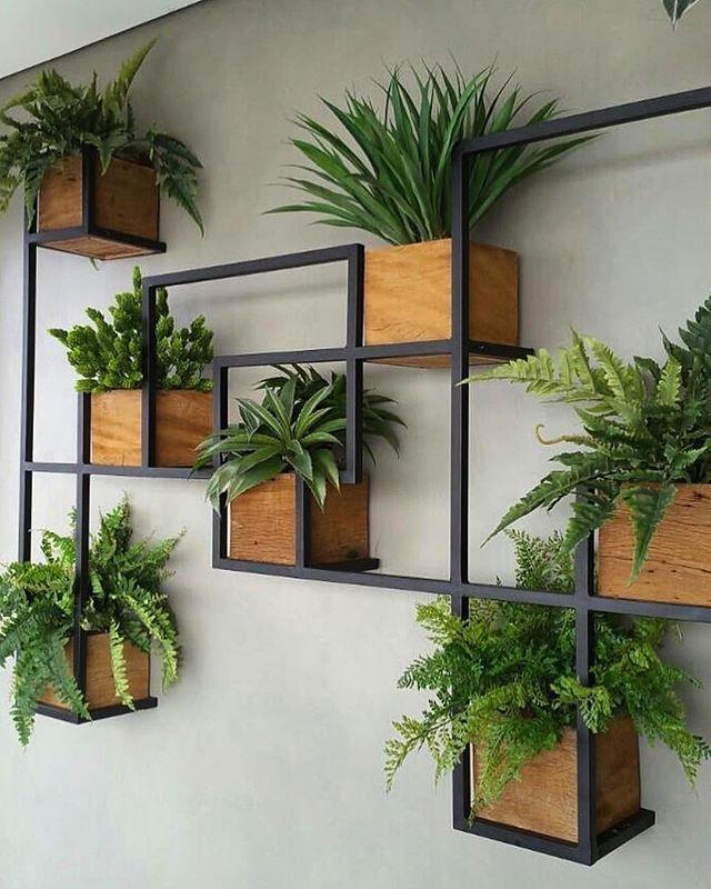 horta vertical com nichos