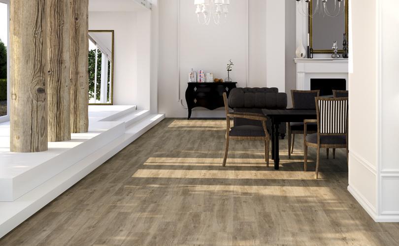 pisos que imitam madeira na sala