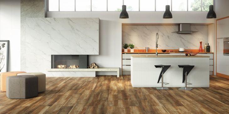 modelo rústico de piso