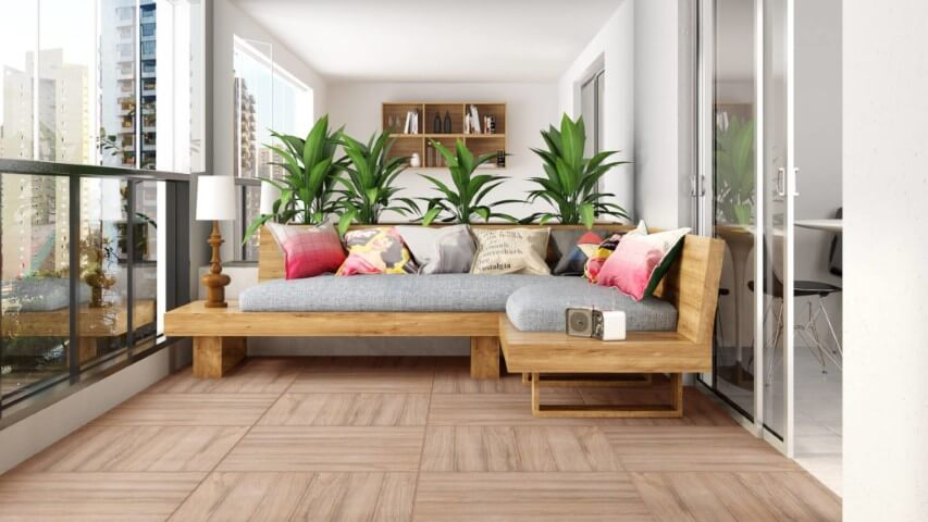pisos que imitam madeira para varanda