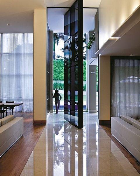 porta moderna alta