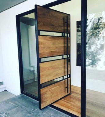 madeira, vidro e metal