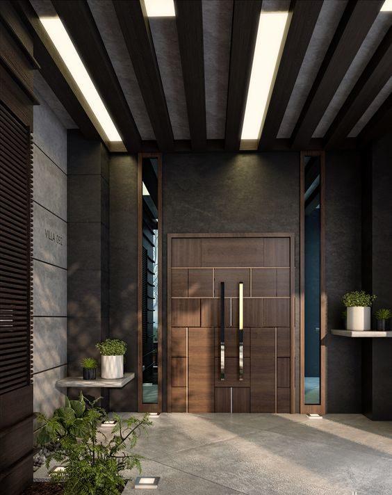 porta de entrada moderna