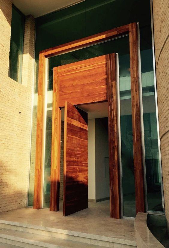 porta madeira demolição