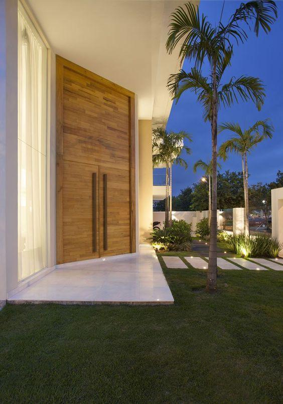 porta lateral dupla