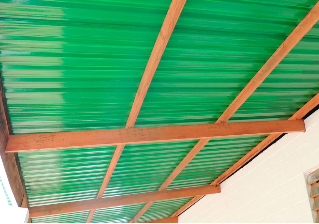 telha colorida