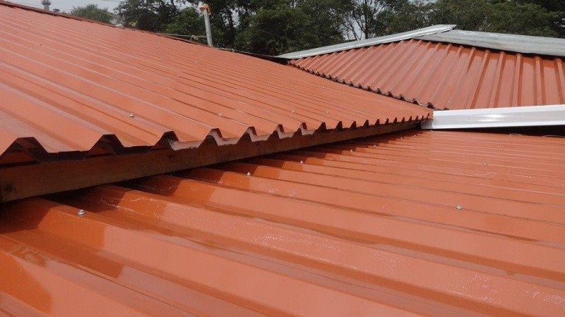 telhado colorido
