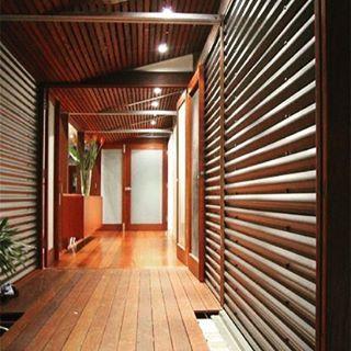 parede interna com telha