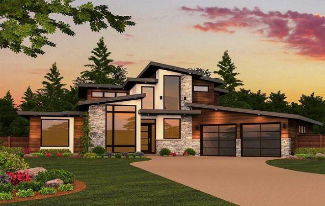tipos de telhado estilos mesclados