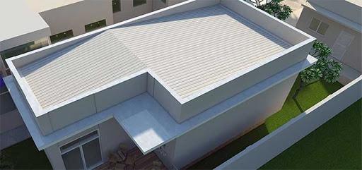 tipos de telhados embutidos