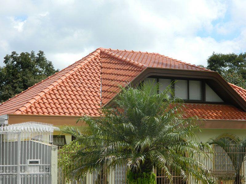 tipos de telhados ceramica