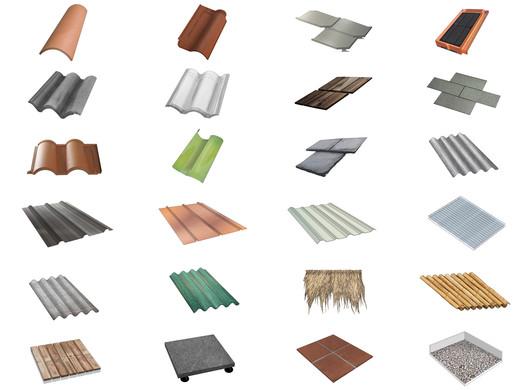 tipos de materiais de telhado
