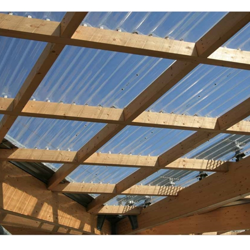 telha de policarbonato ondulada