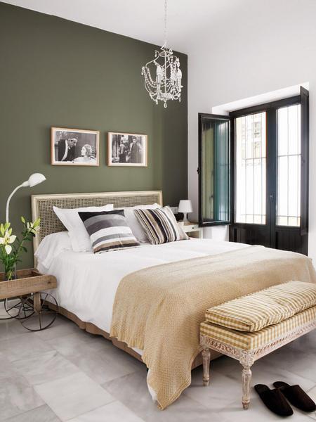 verde musgo quarto