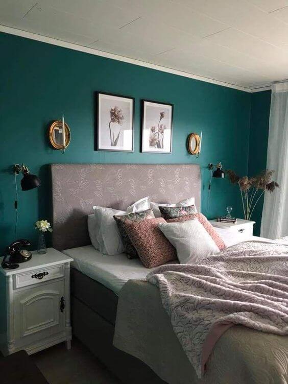 verde musgo para quarto