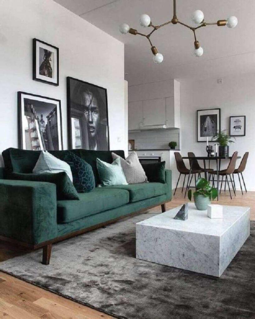 verde musgo sofa