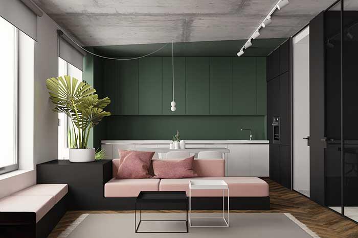 verde e concreto