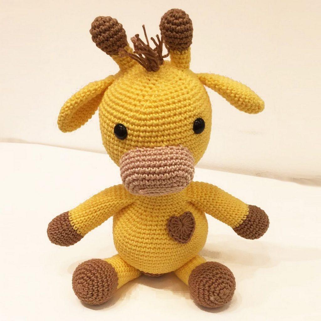 amigurumi de girafa