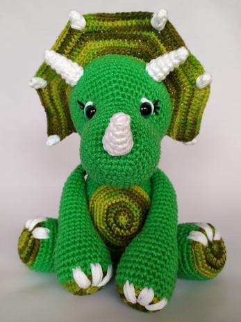 dinossauro verde para decorar