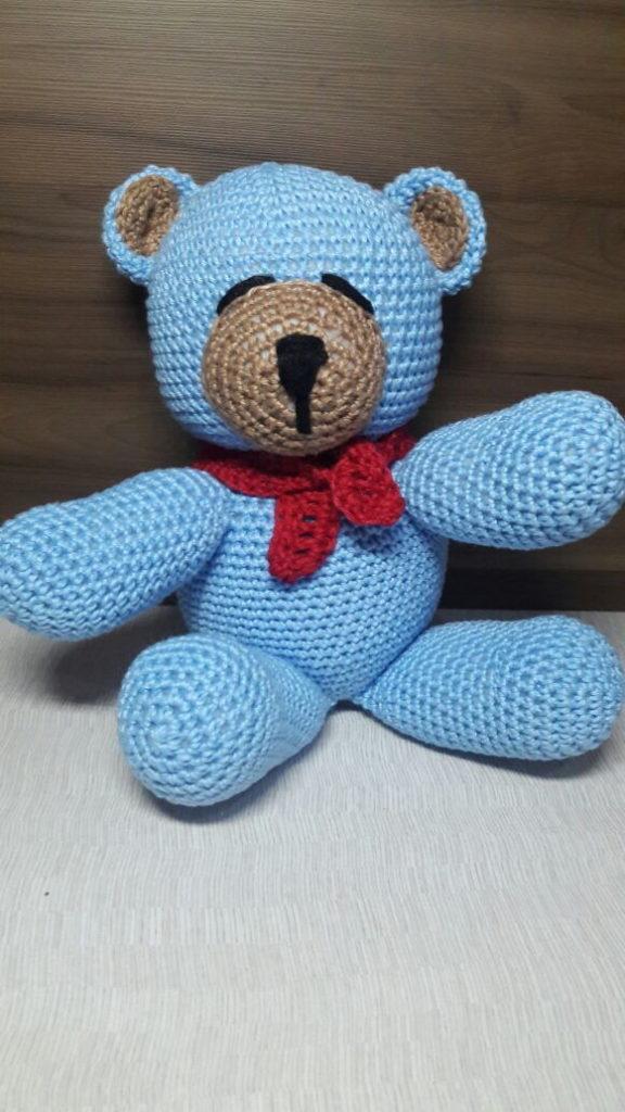 urso com cachecol
