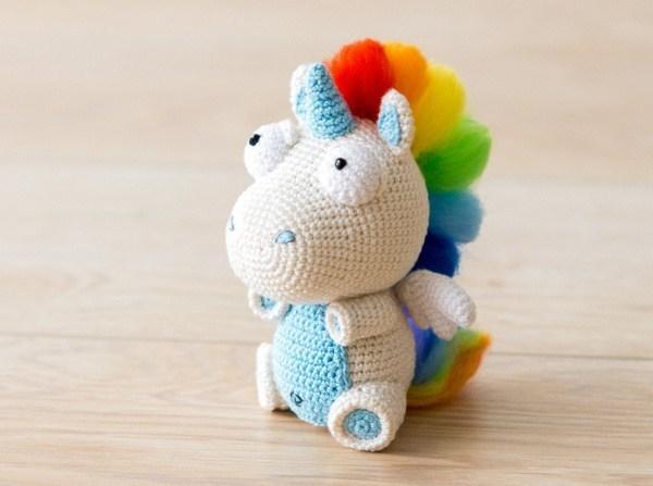 unicorcio colorido
