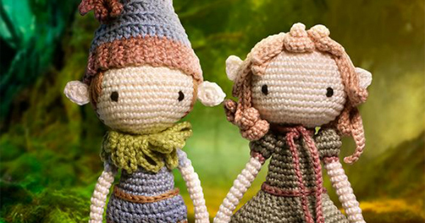 casal de bonecos