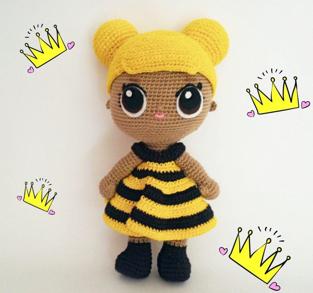 boneca de abelha