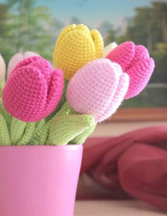 tulipas coloridas