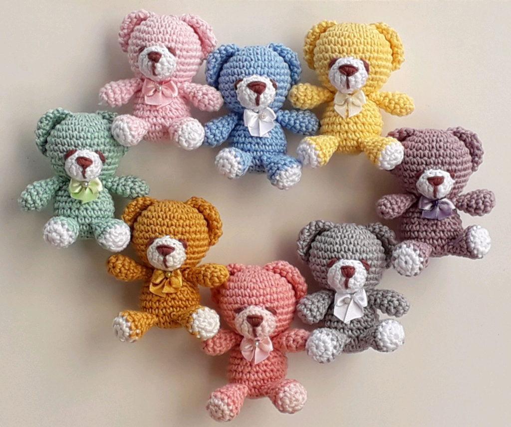 conjunto de ursos