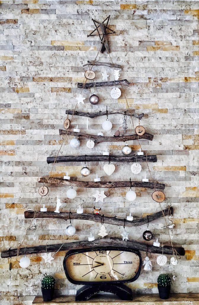 decoração de natal rústica