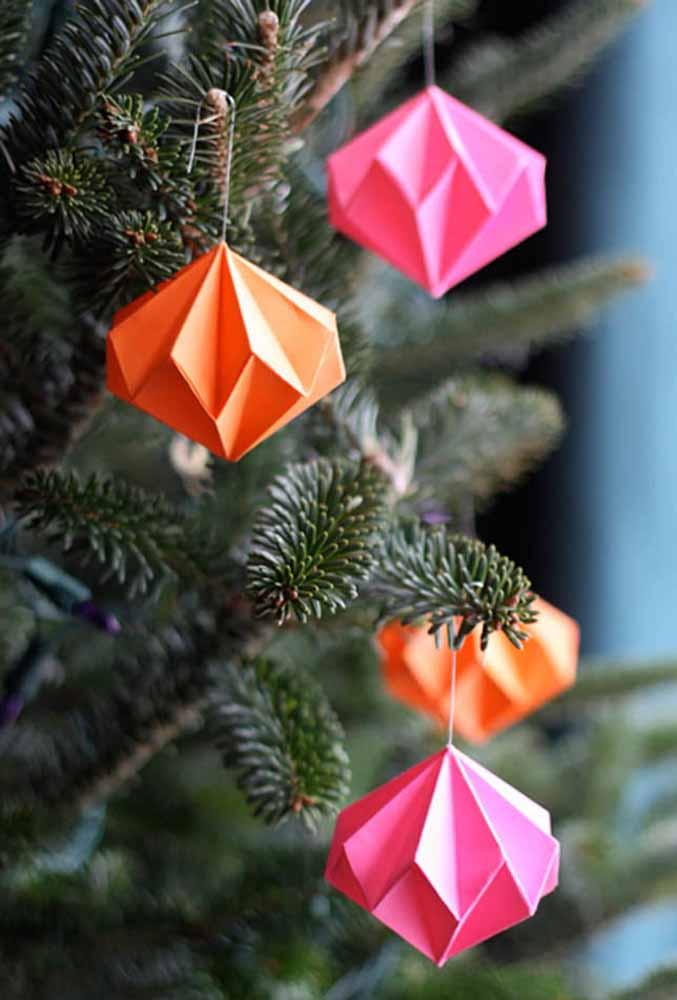 origami para árvore