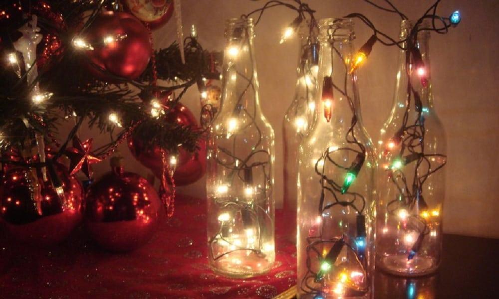 decoração de natal luminosa