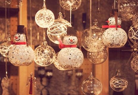 decoração de natal suspensa