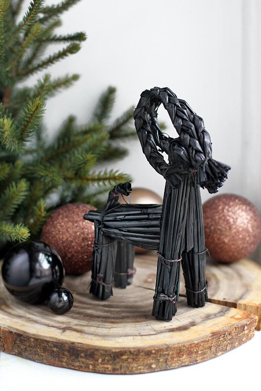 animais artesanais para decoração de natal