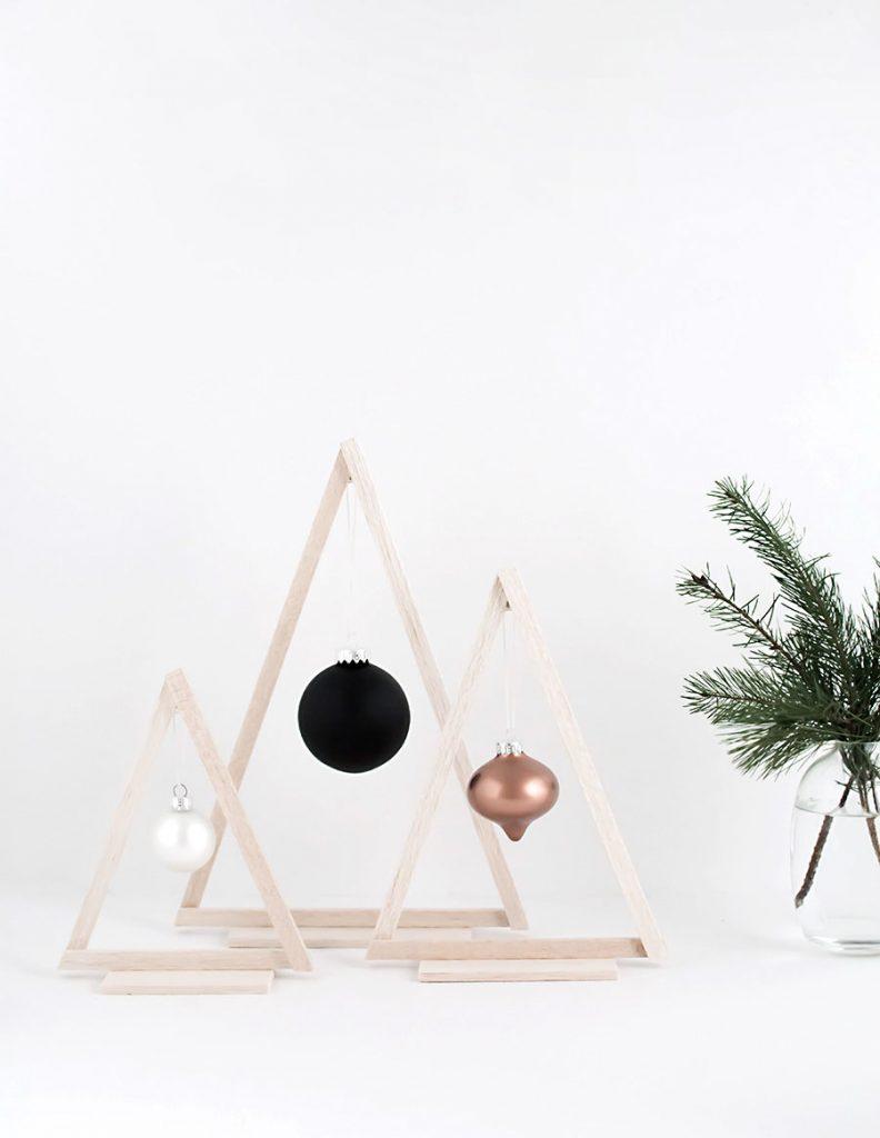 bolinhas de natal minimalistas